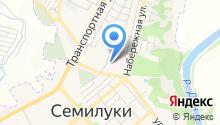 Семилукская центральная районная больница им. А.В. Гончарова на карте