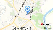 Семилукская районная больница им. А.В. Гончарова на карте