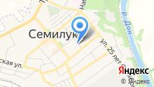 Семилукская ДЮСШ единоборств на карте