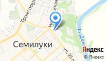 Отдел МВД России по Семилукскому району на карте