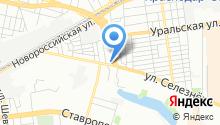 Автоюрист на карте