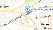 Автотехцентр на Ялтинской на карте