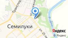 Семилукский районный суд на карте
