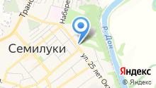 Следственный отдел г. Семилуки на карте