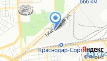 Автостиль23 на карте