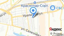 Ast-SPA на карте