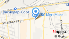 Автосервис на Уральской на карте