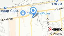 JET-Центр Краснодар на карте