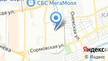 Тканивик на карте