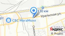 Автомаркет на Онежской на карте