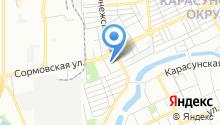 Центр культуры города Краснодара на карте