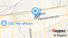 Центр светодиодов на карте