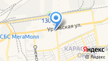 Tevex на карте