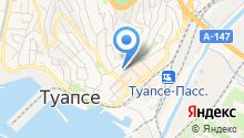 Туапсе-Связь на карте