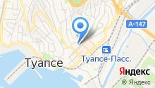 Туапсе-Связь, ЗАО на карте