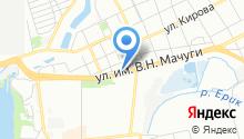 MDS на карте
