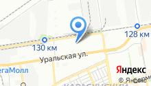 Ясные Зори-Краснодар на карте