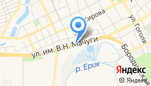 OilService на карте