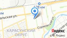 АВТОБУСНАЯ КОМПАНИЯ. на карте