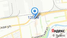 Автомойка на Уральской на карте