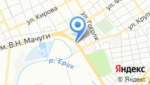 Автомойка на ул. Василия Мачуги на карте
