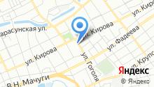 Автомойка на ул. Гоголя (Пашковский) на карте