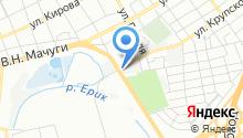 Автосервис на Бородинской 131 - Центр кузовного ремонта в Краснодаре на карте
