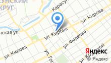 Кунг-фу Панда на карте