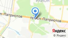 ЭкстраМед на карте