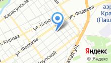 8 Авеню на карте