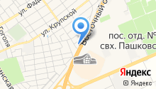 AVANGARD HOTEL на карте