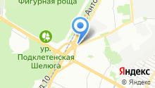 Dupont на карте
