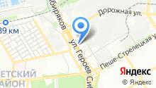 КСМ на карте