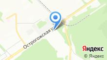 Мобилизационная база МЧС России по Воронежской области на карте
