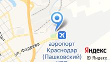 Ural Airlines на карте