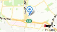 DHL на карте