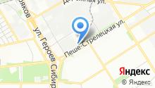 Автоспеццентр на Пеше-Стрелецкой на карте