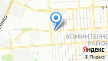 Автозапчасти на Беговой на карте