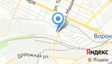 Delphi на карте