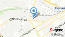 Порше-Центр Воронеж на карте