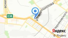 Ю-З на карте