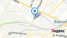 1С-РАРУС Воронеж на карте