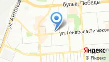 ФОРМУЛА ОФФ РОАД на карте