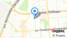 Aveston на карте