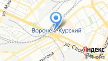 Автомойка на Донбасской на карте