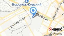 Городская аварийно-ремонтная служба, МКУ на карте
