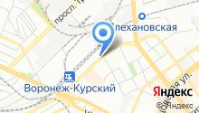 Downtown.ru на карте