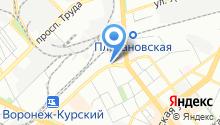 Hampton by Hilton Voronezh на карте