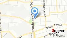 Дюваль на карте
