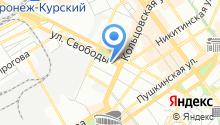 Eco life Воронеж на карте